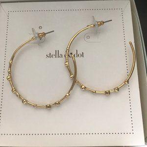 [Stella & Dot] Celestial Hoops